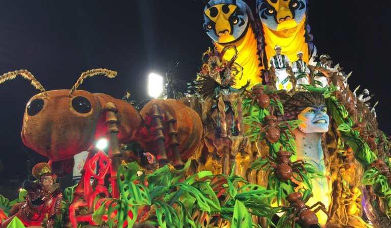 The Brazilian Carnival, 2016