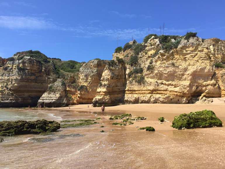Praias do Algarve praias em lagos