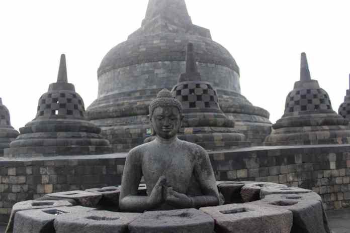 The Magical Borobudur Sunrise, Indonesia - 7 Continents 1 Passport