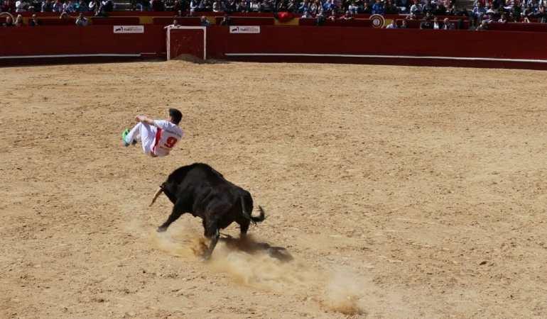"""Final of """"Los Recortes"""", Fallas 2018, Valencia, Spain"""