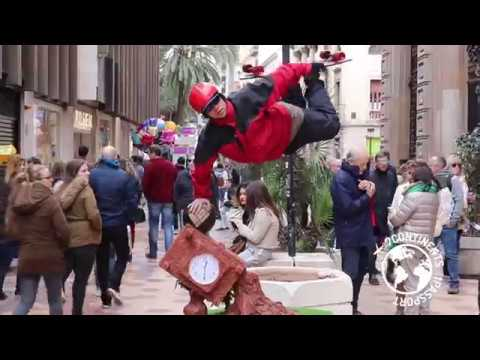 The Most Famous Street Performer in Valencia, Spain