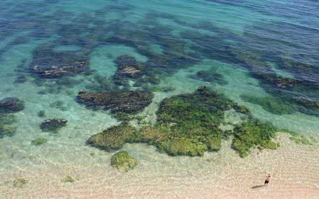 É um verdadeiro tesouro ou não é essa praia?