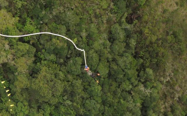 Jumping from Bloukrans Bridge, the highest bungy bridge in the world, was one of the scariest and most memorable experiences of my life!