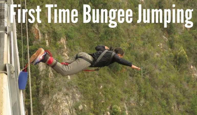Saltando en Bungee Jump por Primera Vez