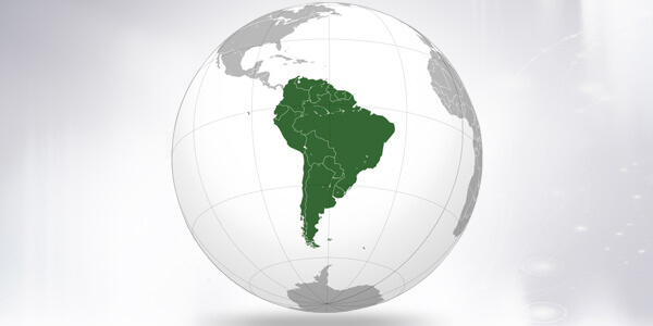 Big size South America Map