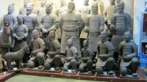 Chinese emperor & army for sale!