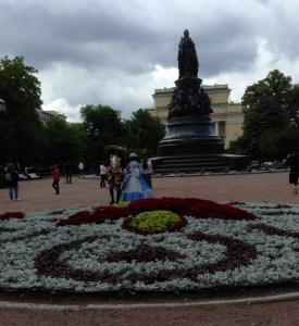 Pseudo-aristocrats & Catherine monument