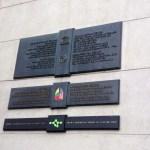 GW Bush plaque