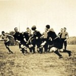 The 1905 champion All Blacks