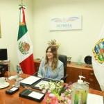 Expone Maki Ortiz la violencia y exclusión política de la mujer en Foro de Cámara de Diputados