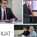 Rector De La UAT Rinde Informe Financiero Al Patronato Universitario