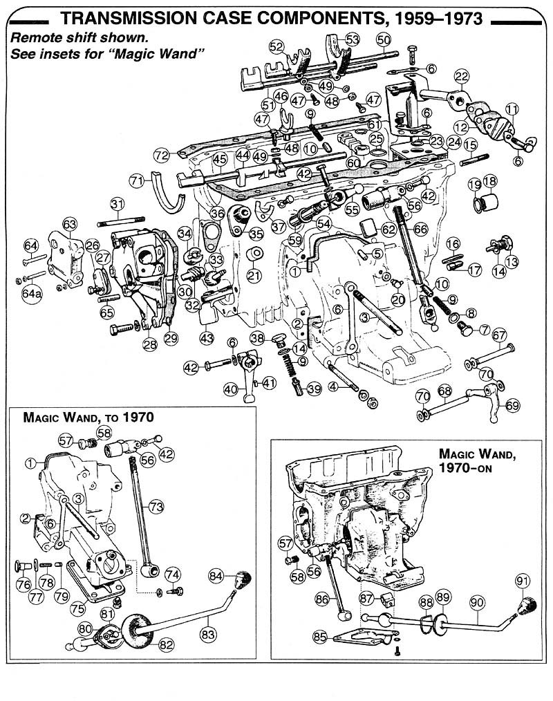 [WRG-1907] Mini Cooper Transmission Diagrams