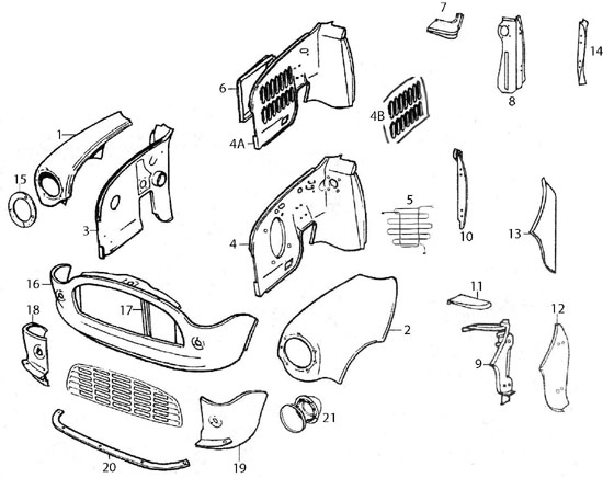 Mini Cooper Exterior Parts Diagram • Wiring Diagram For Free