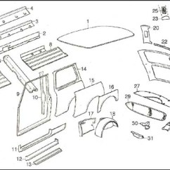 Car Exterior Parts Diagram With Names Nordyne Gas Furnace Wiring Body Side Rear