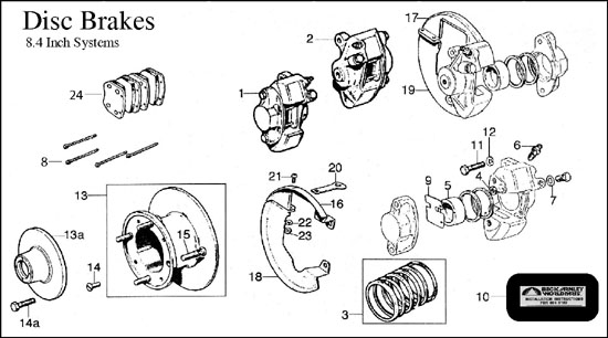 Diagram, Brakes, 8.4