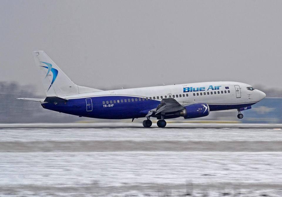 Blue Air, zbor deasupra unui cuib de proști! 2 milioane euro, țeapă la Aeroport