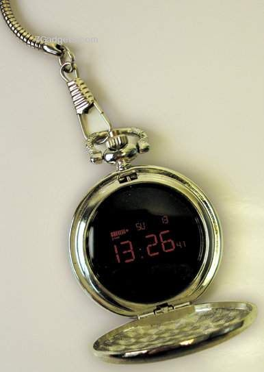 Digital Pocket Watch  7 Gadgets