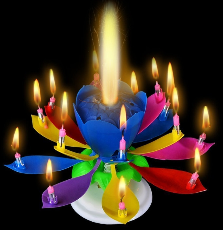 kitchen memory foam mat shaker style cabinet hardware birthday lotus candles amazing singing rotating musical ...