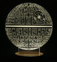Death Star Table Lamp Micro USB Mood Lamp