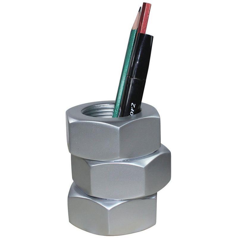 Bolt Pen Pencil Holder For Desk or Workshop