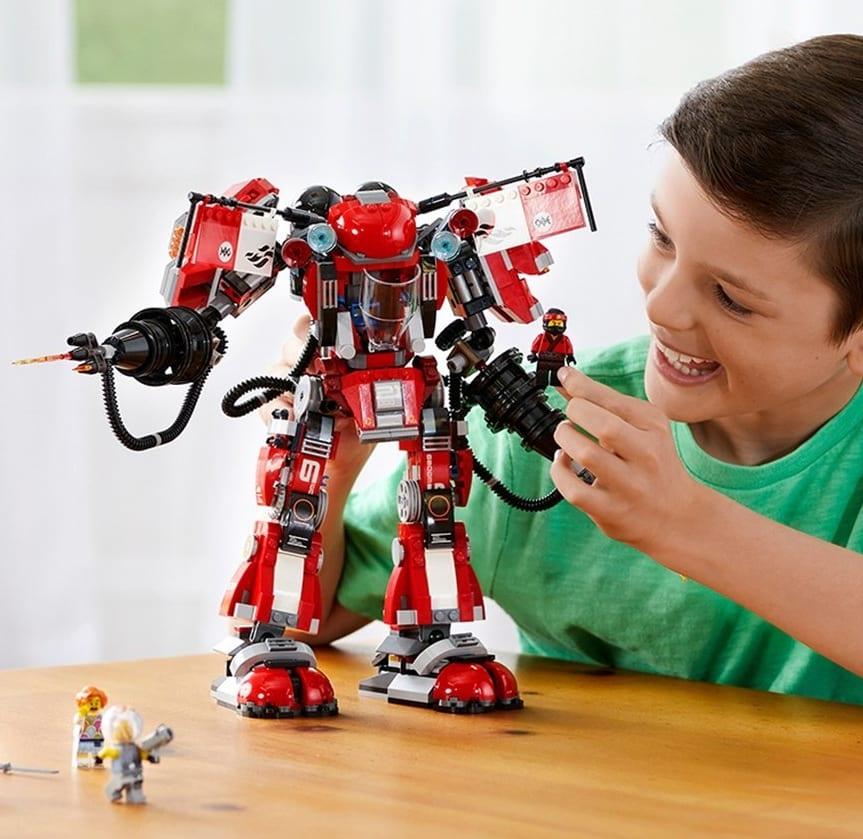 epson kitchen printer transformations lego ninjago movie fire mech 70615 building kit – 7 gadgets