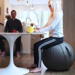 Yoga Ball Chair Base Covers Overall Adelaide Vivora Luno Self Standing Sitting For Home Office Patented Design And Durable Carry Handle Makes The Perfect Combination Of A Swiss