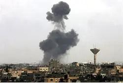 Авиаудар по Газе (Архив)