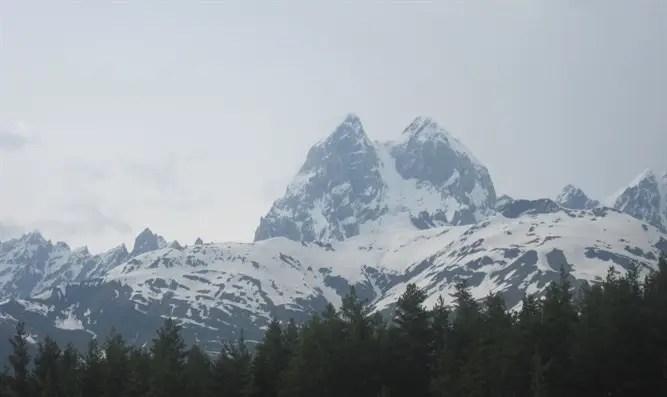 Mount Ushba. Georgia