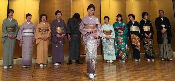 日北福岡文化團體展現和服之美 (圖片來源: 中華旗袍文化藝術交流學會)