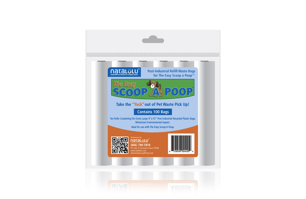 Easy Scoop a Poop Label Design by Dara Chilton with 7 Lucky Dogs Creative