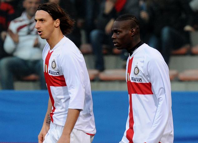 Ibrahimovic and Balotelli