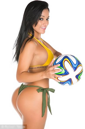 Brazil babes wish Neymar and Co good luck for this summer's World Cup