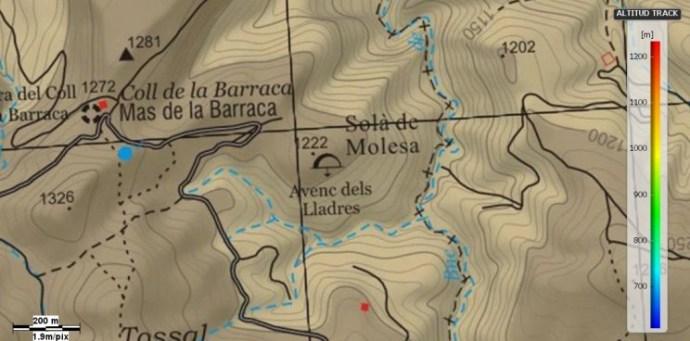 mapa avenc