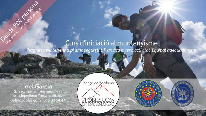 curs iniciacio al muntanyisme vallfosca pirineus guia de muntanya