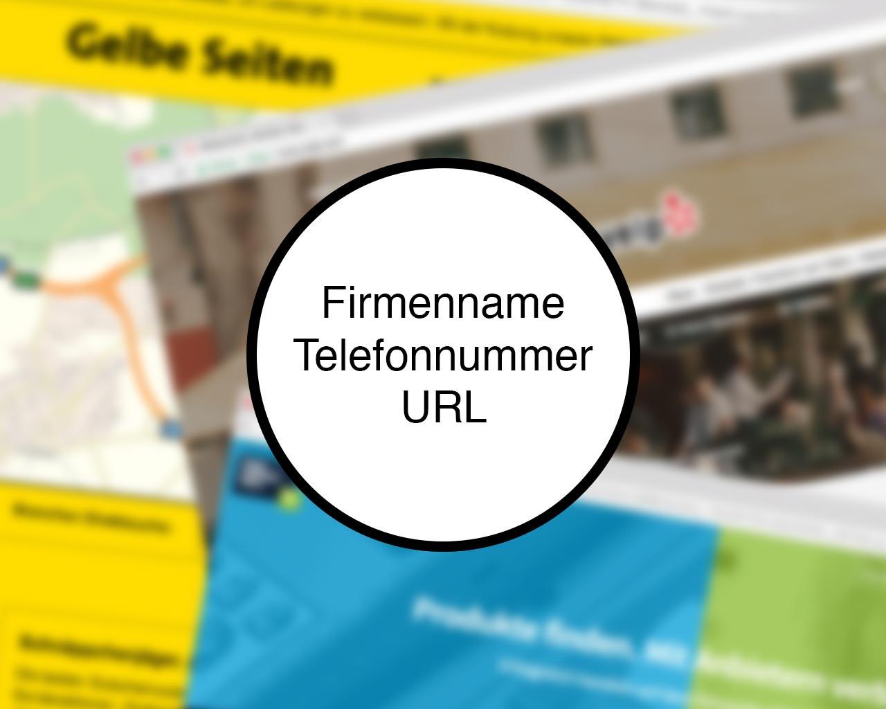 101 Online Kapital - Teil 02 Firmenname, Telefonnummer und URL