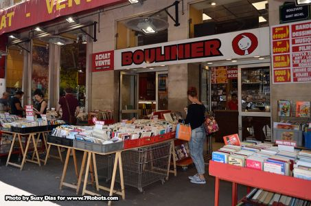 Boulinier Comics Bande Desinée Paris. Photo by Suzy Dias