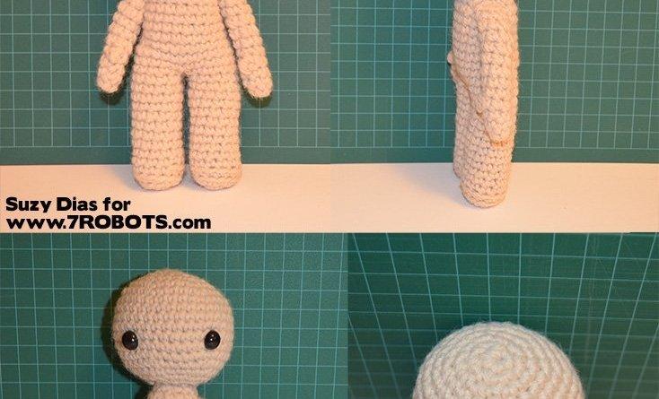 Amigurumi Doll - Basic Body. FREE Patterns Too! - 7 Robots ...