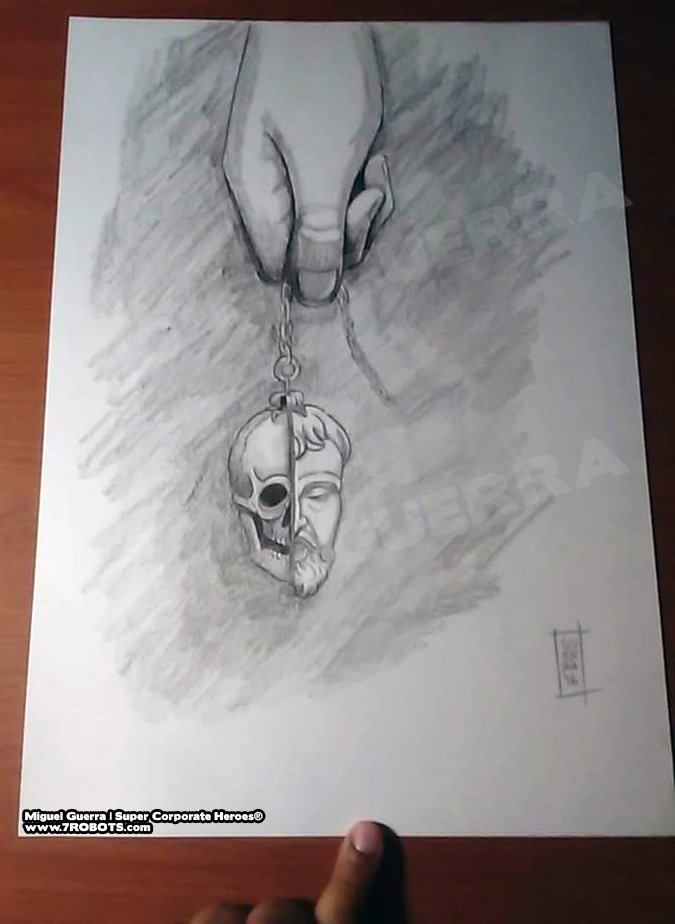 Super Corp Heroes v2: Memento Mori. Art by Miguel Guerra