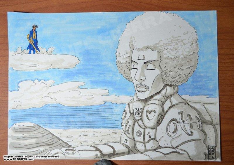 Prince Sphinx by Miguel Guerra