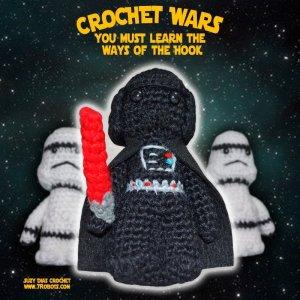 Crochet Star Wars Amigurumi Darth Vader by Suzy Dias