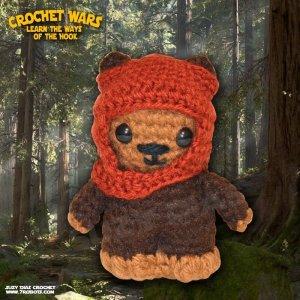 Crochet Star Wars Amigurumi Ewok by Suzy Dias