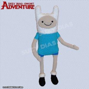 Crochet Adventure Time FInn by Suzy Dias