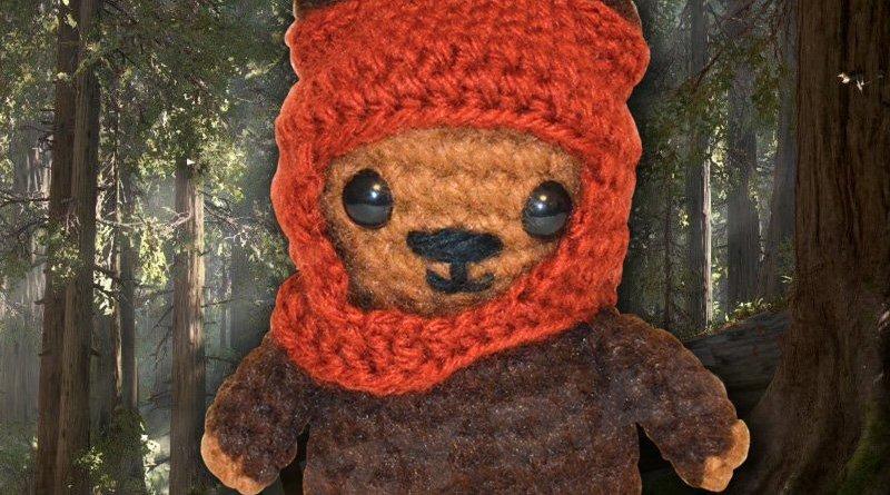 Star Wars Crochet Wicket the Ewok by Suzy Dias