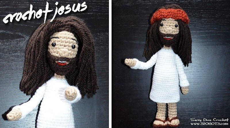 Crochet Jesus by Suzy Dias