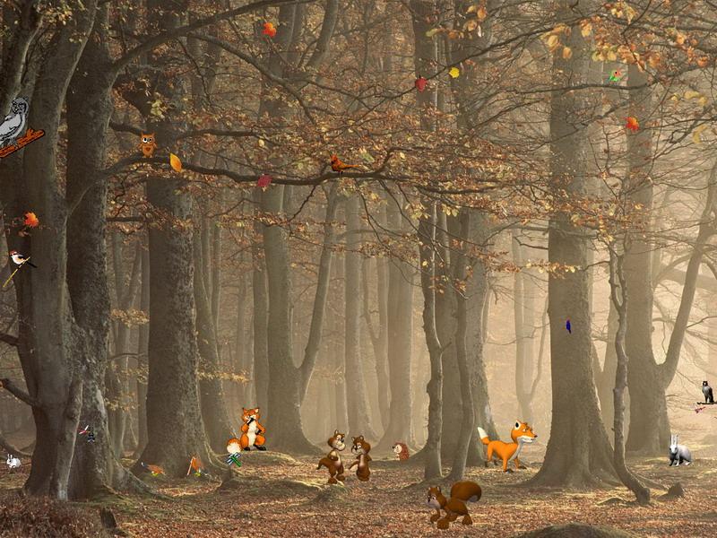 autumn fantasy autumn screensaver