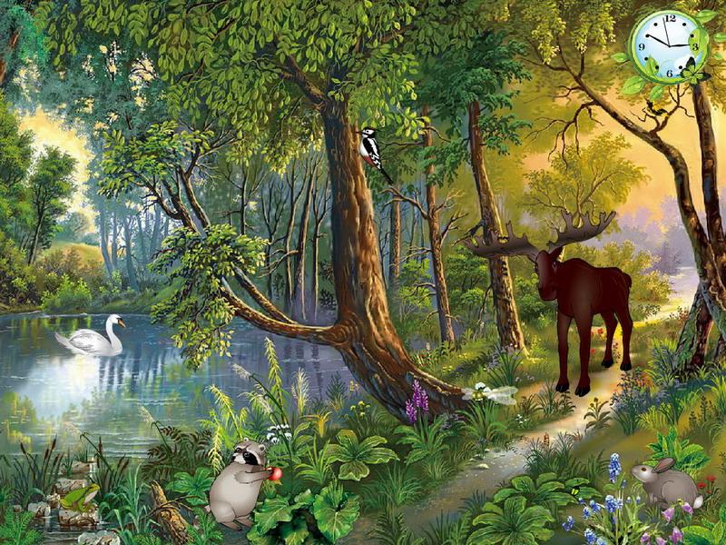 Nechar Wallpaper 3d Magic Of Nature Free Nature Screensavers