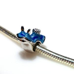 Blue Nudibranch Bead - 7SEASJewelry