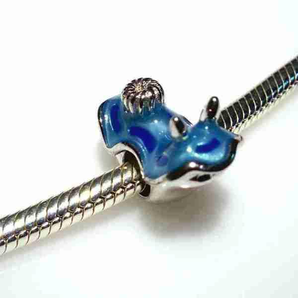 Blue Nudibranch Bead - 7SEASJewelry