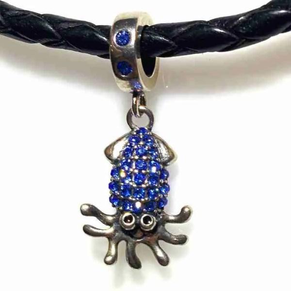 Merry Squid Charm - 7SEASJewelry