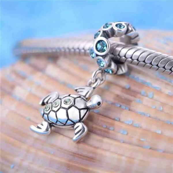 Sea Turtle Charm - 7SEASJewelry